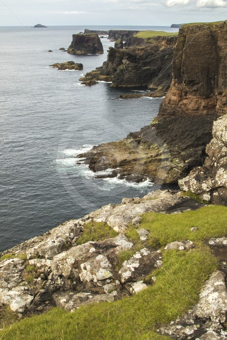 Eshaness shores in Shetland - Nature Stock Photo Agency