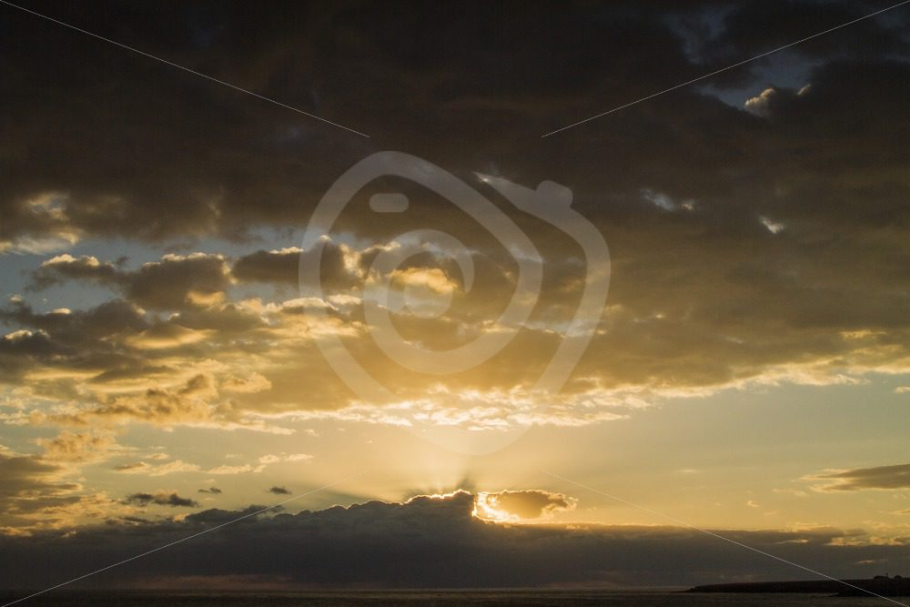 Beautiful sunset over the Canary Islands - Nature Stock Photo Agency