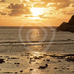 Sunset in South West Thailand islands - Nature Stock Photo Agency