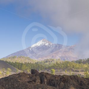 Tenerife Mount Teide with lava rocks - Nature Stock Photo Agency