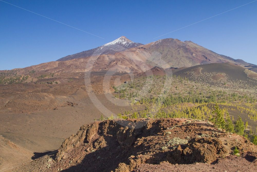 Volcano landscape with Teide - Nature Stock Photo Agency
