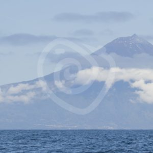 Mount Teide from the ocean - Nature Stock Photo Agency