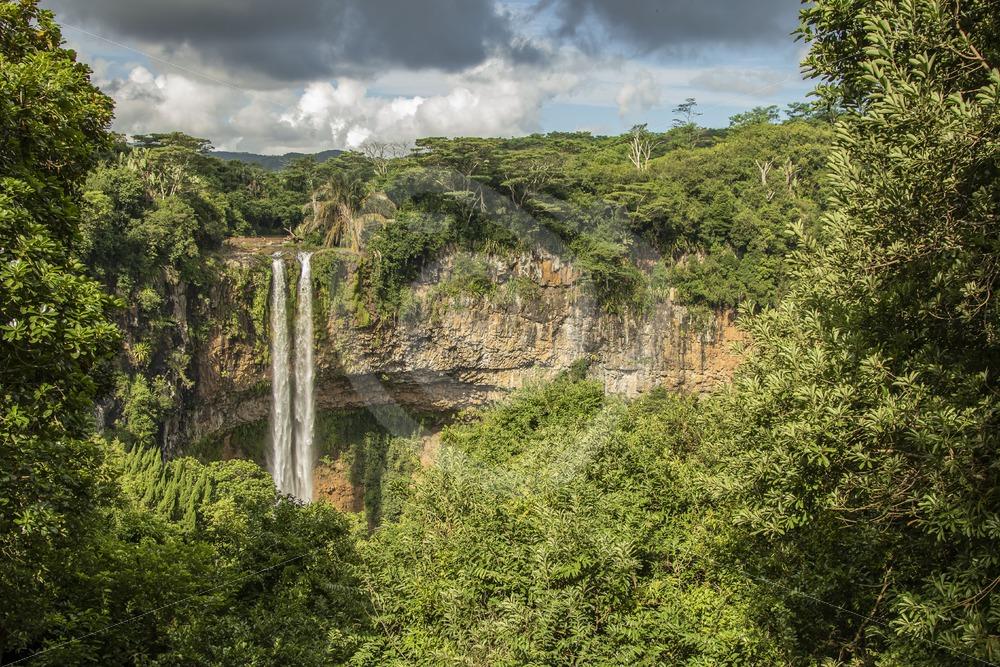 Chamarel waterfall Mauritius - Nature Stock Photo Agency