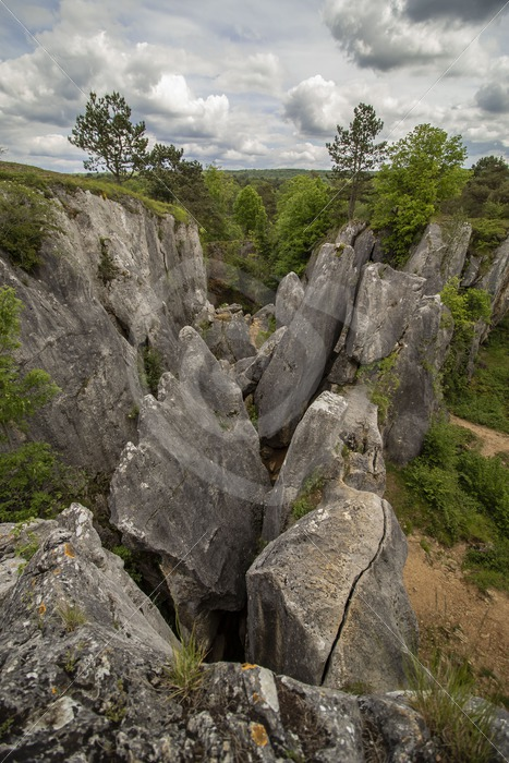 Fondry des Chien, rock formation in Belgium - Nature Stock Photo Agency