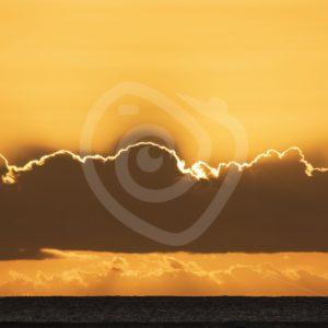 Sunset of Le Morne, Mauritius - Nature Stock Photo Agency