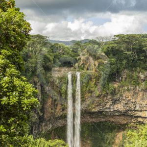 Chamarel twin waterfall, Mauritius - Nature Stock Photo Agency