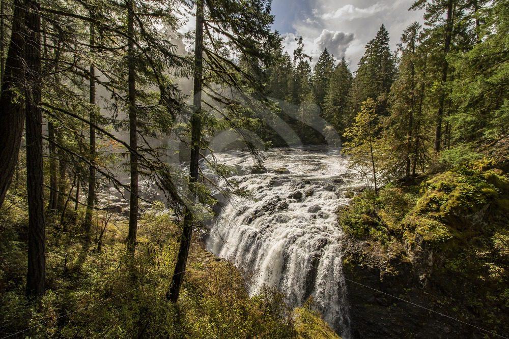 Englishman River Falls Provincial Park - Nature Stock Photo Agency