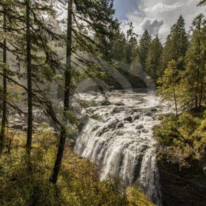 Englishman River Falls Provincial Park - Nature Stock Photo Agency