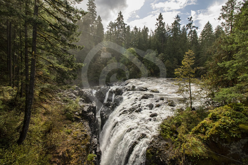 Englishman River Falls Provincial Park, Vancouver Island - Nature Stock Photo Agency